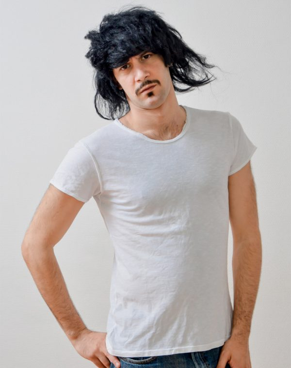 white -tshirt bohemian style unisex
