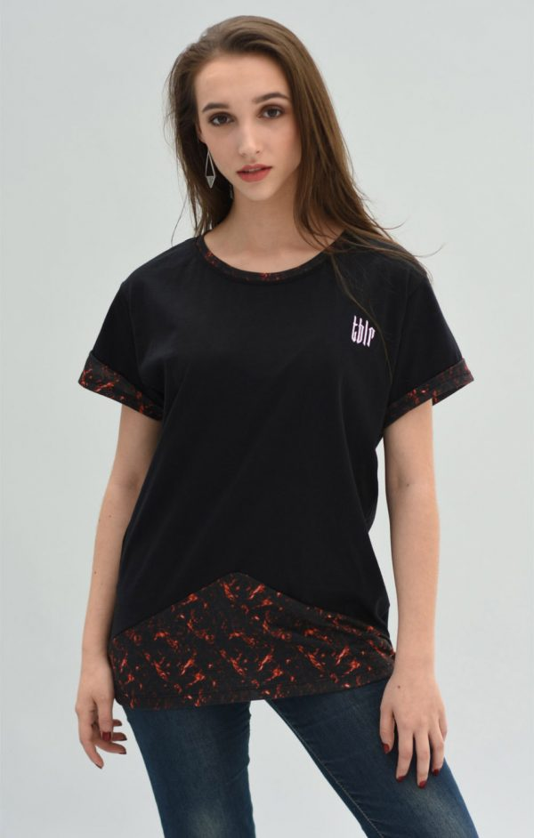 streetwear tshirt P. Reloaded 2 woman