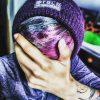 streetwear beanie purple unisex