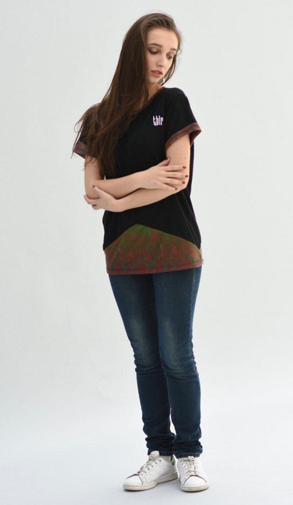 streetwear woman t-shirt fashion