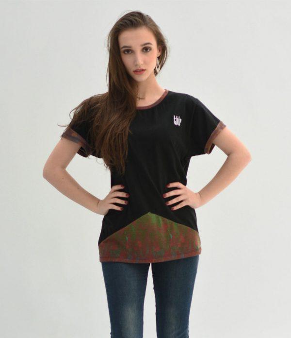unisex streetwear t-shirt woman
